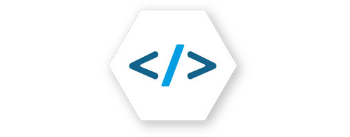 Icon Softwareentwicklung Code